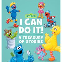"英文原版 芝麻街:""我能做到""故事集 精装故事合集 Sesame Street I Can Do It!: A Tre"