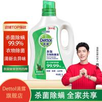 Dettol滴露 消毒液1.2L*2瓶送衣物除菌液180ml 杀菌率99.999%