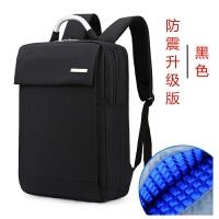 新品电脑包双肩包笔记本电脑包15.6寸14寸男女士商务背包 升级