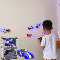 遥控汽车 爬墙车 吸强车攀爬 动遥控车儿童玩具可充电男孩4-12岁