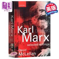 【中商原版】卡尔.马克思作品选 英文原版 Karl Marx: Selected Writings  Oxford University