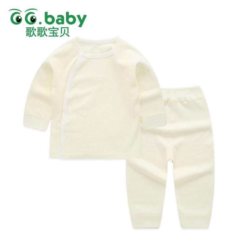 【99元4件到手价:24.8】歌歌宝贝秋衣套装纯棉儿童内衣睡衣婴儿衣服