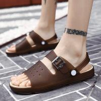 时尚新潮男拖鞋男士凉拖鞋夏季一字拖鞋时尚沙滩鞋浴室内外穿防滑