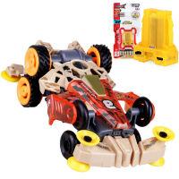奥迪双钻四驱车 零速争霸超次元四驱车 拼装模块组装玩具 竞速系列 独眼巨魔 扭力型 220毫安电池