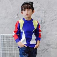 男童毛衣套头秋款加绒加厚中大童8-10-12岁儿童圆领韩版针织衫6