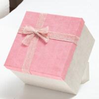 正方形礼品盒大号礼物包装盒大伴手礼礼物盒生日礼盒包装盒子
