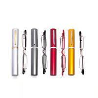 201808272038407852018新品便携式笔筒老花镜男女树脂舒适折叠老花眼镜优雅简约防护疲劳
