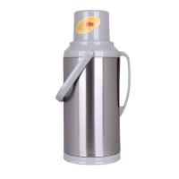 商用家用时尚保温热水瓶 玻璃内胆开水瓶 大容量暖水壶 不锈钢家用保温壶 大号 3200ML