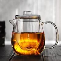 20191212215108324红兔子企鹅玻璃茶壶500毫升耐高温过滤泡茶杯加热泡花茶壶茶具茶器玻璃茶壶家用全玻璃泡