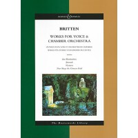 【预订】Works for Voice and Chamber Orchestra: The Masterworks