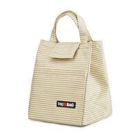 帆布饭盒袋手提大号保温便当袋饭盒包手提包保温袋便当包