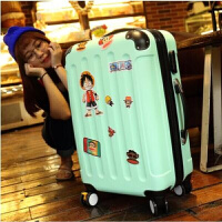 行李箱男杆箱女旅行箱密码箱皮箱万向轮20寸24寸28韩版学生箱子