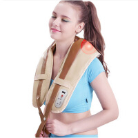 SKG捶打按摩披肩敲敲乐捶背敲打颈椎仪肩部肩颈按摩器多功能全身 智能定时 经典捶打按摩