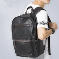 双肩包男士学生背包休闲旅行包男女休闲韩版潮包书包电脑包