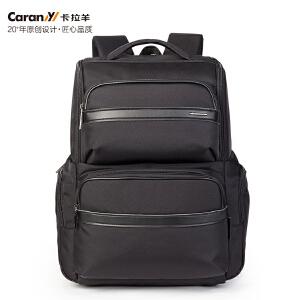 卡拉羊(Carany)双肩包商务休闲户外运动大容量14英寸电脑背包CS5743