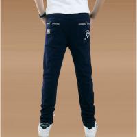 中大童男童春秋裤子男孩春季休闲纯棉小脚长裤15儿童12岁韩版童装