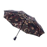 自动伞遮阳伞折叠雨伞男 全自动迷彩伞晴雨两用雨伞 三折伞