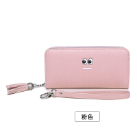 女士手拿钱包女长款日韩版拉链多功能长款大容量皮夹