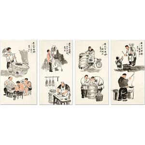 伯阳《老北京美食系列》
