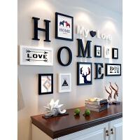 照片墙装饰品创意个性客厅相册相框挂墙组合房间背景相片墙自粘贴