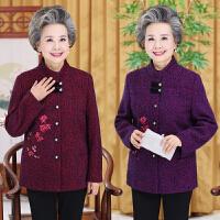 中老年女装秋装外套60-70岁妈妈装奶奶春秋装上衣老年人唐装衣服