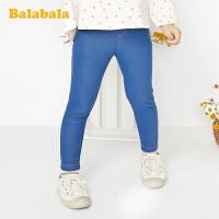 巴拉巴拉女童打底裤外穿宝宝裤子小童2020新款春季洋气儿童长裤女