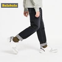 巴拉巴拉男童裤子儿童牛仔裤秋装2019新款童装弹力男休闲裤韩版潮