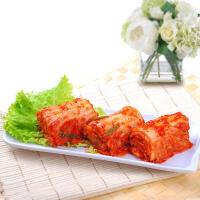 【包邮】金刚山 辣白菜 腌制泡菜 朝鲜族风味下饭菜 155g*5袋