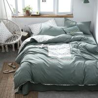 纯棉贴布绣被套四件套床上用品水洗棉被单三件套床品套件