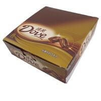 【包邮】德芙(Dove) 丝滑牛奶巧克力 盒装 516g (12条*43g) 办公室休闲零食