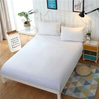 床笠单件 床垫套席梦思保护套防滑防尘罩床套薄棕垫1.5米1.8m床罩 加高款150x200 22-32cm