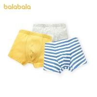【1.20年�� 3件6折: 35.4】巴拉巴拉男童�妊�平角�棉四角�和�短�中大童����柔��H�w三�l�b