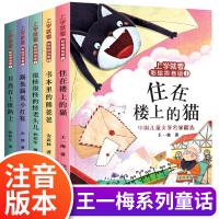 上学就看彩绘拼音版1 共5册(熊爸爸+猫+月亮+怪老头儿+小红鞋)