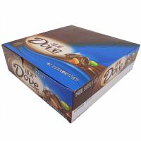 【包邮】德芙(Dove) 榛仁巴旦木及葡萄干巧克力 盒装 516g (12条*43g) 办公室休闲零食