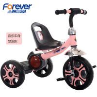 永久儿童三轮车1-2-3-4-5岁宝宝音乐手推车自行车童车脚踏车