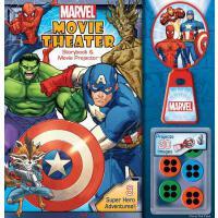 Marvel Movie Theater Storybook & Movie Projector 迷你放映机系列:漫威