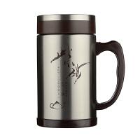富光茗派生态办公杯FGK-2049不锈钢外壳 * 礼品水杯礼盒装