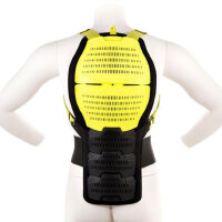 户外运动护具 滑雪运动 成人滑雪护背 护具 黄色