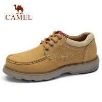 【下单立减120元】camel骆驼男鞋 秋季新品牛皮马丁鞋潮工装鞋时尚户外休闲男鞋子