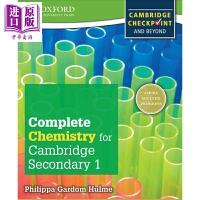 【中商原版】Complete Chemistry for Cambridge Secondary 1 Student B