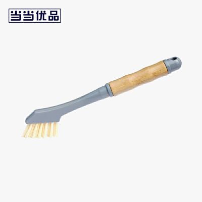 当当优品 多用竹柄刷 厨用家务清洁刷 除尘刷 缝隙刷 当当自营 细密毛刷 清洁力强 柔韧耐用 天然竹手柄 手感好不打滑