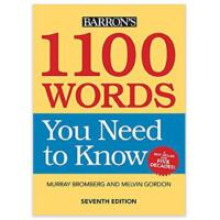 1100 Words You Need to Know  9781438010427