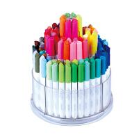 得力(deli) 70661 可水洗100色水彩笔 108支桶装(内赠8支荧光笔) 当当自营