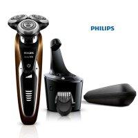 飞利浦(Philips)电动剃须刀 S9511 充电式 V型精准切剃系统 干湿两用可全身水洗