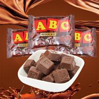 【包邮】韩国乐天 ABC牛奶 方块字母巧克力 牛奶巧克力 65g*3袋