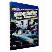 正版蓝光DVD 速度与激情5 蓝光碟BD50含花絮保罗沃克