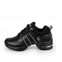 舞蹈鞋英伦女式鞋 广场舞鞋增高鞋运动鞋女软底跳舞鞋