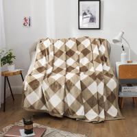 君别加厚毛毯被子斑马纹珊瑚绒毯子冬季沙发铺床单人小双人盖毯
