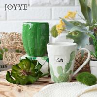 可爱小清新简约文艺马克杯陶瓷杯子情侣杯创意*水杯茶杯