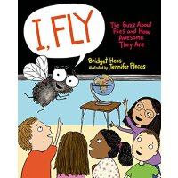 【现货】I, Fly: The Buzz about Flies and How Awesome They Are 英
